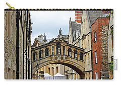 Bridge Of Sighs Carry-all Pouch by Tony Murtagh