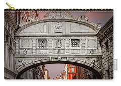 Bridge Of Sighs Venice Italy  Carry-all Pouch