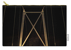 Carry-all Pouch featuring the photograph Bridge Of Stars by Cat Connor