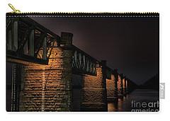 Bridge On Holy River Godavari Carry-all Pouch