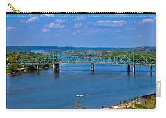 Bridge On The Ohio River Carry-all Pouch