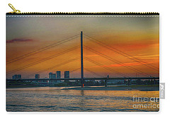 Bridge On The Rhine River Carry-all Pouch