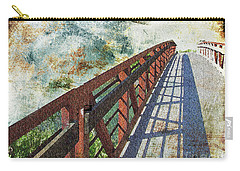 Bridge Over Clouds Carry-all Pouch by Deborah Nakano