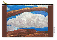 Bridge Over Clouds Carry-all Pouch