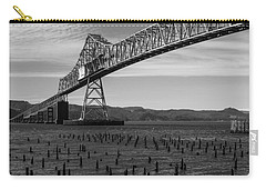 Bridge Over Columbia Carry-all Pouch by Jeff Kolker