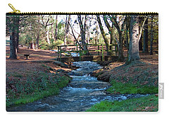 Bridge Over Peaceful Waters Carry-all Pouch by Nick Kirby