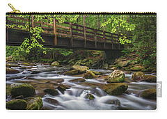 Bridge Over Rocky Water Carry-all Pouch