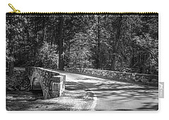 Carry-all Pouch featuring the photograph Bridge Over The Merced by Ryan Photography