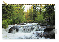 Bridge Over The Stream Carry-all Pouch