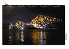 Bridge Over Water Lights. Carry-all Pouch