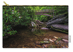 Bridge Over Wilson Creek Carry-all Pouch