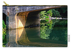 Bridge Shadow Geometry Carry-all Pouch