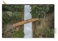 Bridge The Gap Carry-all Pouch by Alpha Wanderlust