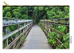 Bridge To Bamboo Forest Carry-all Pouch