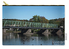 Bridge To Lambertville 2 Carry-all Pouch