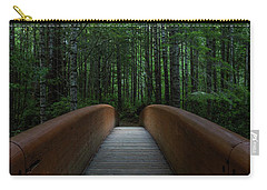 Carry-all Pouch featuring the photograph Bridge To Serenity  by Dustin LeFevre