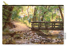 Bridge To The Falls Carry-all Pouch