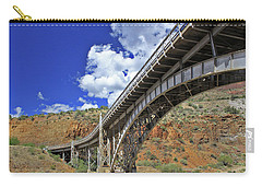 Bridge To Yesteryear Carry-all Pouch