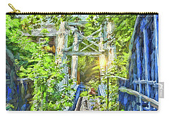 Carry-all Pouch featuring the photograph Bridge To Your Dreams by LemonArt Photography