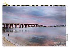 Bridge Under The Sunset Carry-all Pouch