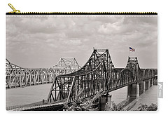 Bridges At Vicksburg Mississippi Carry-all Pouch