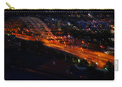Carry-all Pouch featuring the photograph Bridges by Cathy Donohoue