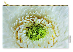 Carry-all Pouch featuring the photograph Bright As A Lime by Christi Kraft