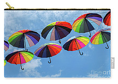 Bright Colorful Umbrellas  Carry-all Pouch