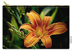 Bright Daylily Carry-all Pouch