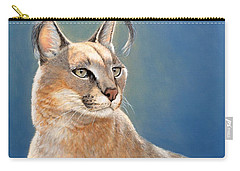 Bright Eyes - Caracal Carry-all Pouch