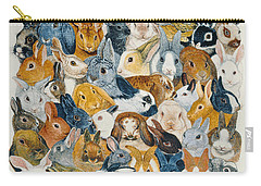 Bright Eyes Carry-all Pouch by Pat Scott