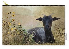 Carry-all Pouch featuring the photograph Bright Eyes by Robin-Lee Vieira