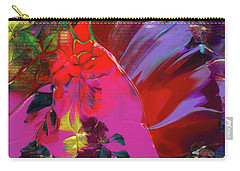 Bright Flaming Sun Flares Carry-all Pouch