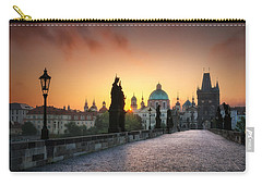 Bright Morning In Prague, Czech Republic Carry-all Pouch