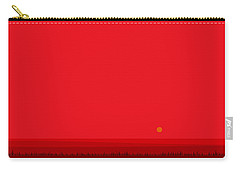 Bright Red Sunset Landscape Carry-all Pouch