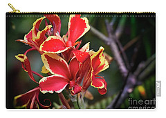 Carry-all Pouch featuring the photograph Bright Spot In My Day by Mary Machare