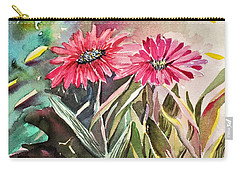 Bright Spring Daisies Carry-all Pouch