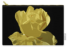 Bright Yellow Beauty Carry-all Pouch by Laurel Powell