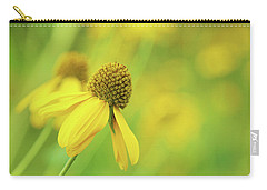 Bright Yellow Flower Carry-all Pouch