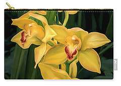 Bright Yellow Orchids Carry-all Pouch