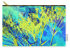 Carry-all Pouch featuring the digital art Brighter Day by Shawna Rowe