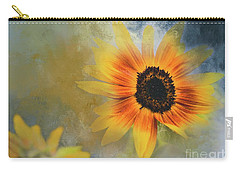 Brighter Than Sunshine Carry-all Pouch by Eva Lechner