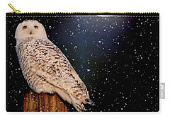 Brighter Than The Moonlight Carry-all Pouch by Heather King