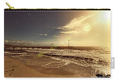 Brighton Beach Pier Carry-all Pouch by Douglas Barnard