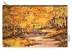 Brilliant Cluster Of Autumn Carry-all Pouch