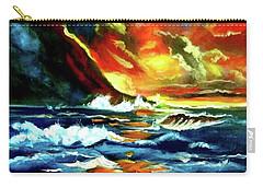 Brilliant Hawaiian Sunset Carry-all Pouch