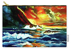 Brilliant Hawaiian Sunset Carry-all Pouch by Jenny Lee