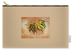 Brilliant Is The Color Of Autumn  Carry-all Pouch by Talisa Hartley