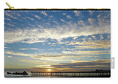 Brilliant Sunset Seacliff, Ca Carry-all Pouch