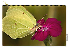 Carry-all Pouch featuring the photograph Brimstone 1 by Jouko Lehto